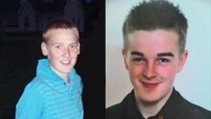 Shaun Graham and Matthew Crawford, both from Letterkenny, died in the crash