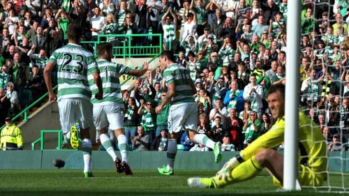 Anthony Stokes was Celtic's matchwinner