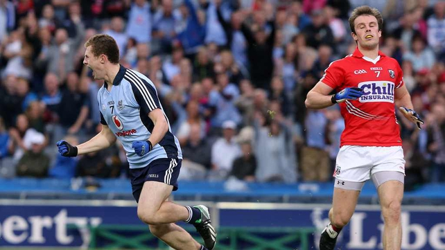 Jack McCaffrey scored the Dublin goal