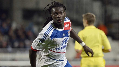Bafetimbi Gomis is one of Newcastle United's transfer targets