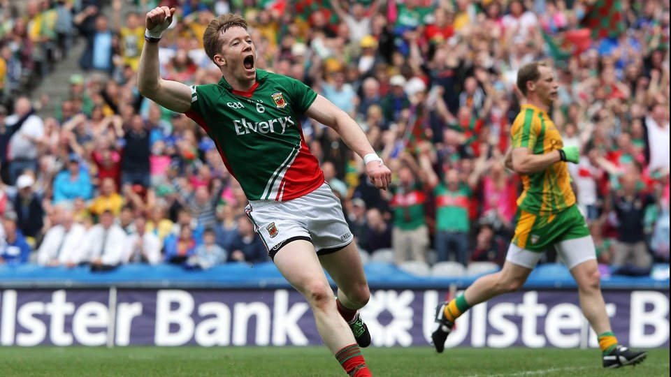 Donal Vaughan scored one of Mayo's four goals