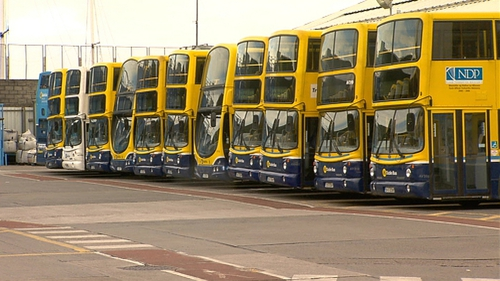 NBRU members at Dublin Bus and Bus Éireann voted for action