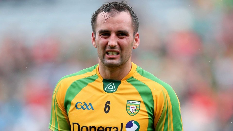 Karl Lacey's face says it all at full time as champions Donegal exit the championship