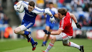 It was Monaghan and Tyrone first though as Conor Hughes skipped past Dermot Carlin