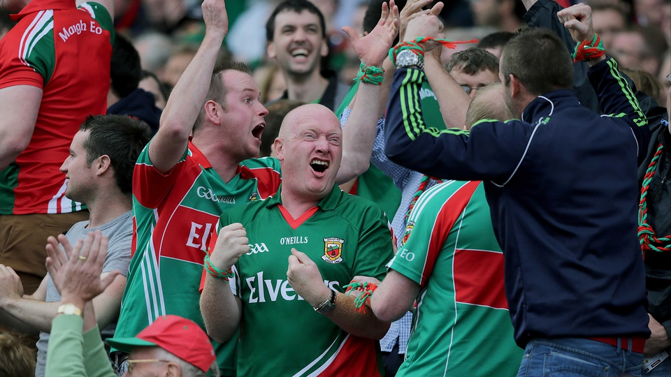 Mayo smiles were the biggest on All-Ireland quarter-final weekend at Croke Park