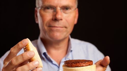 Professor Mark Post believes test-tube burgers could herald a food revolution
