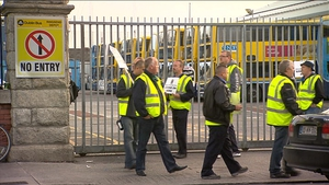 Dublin Bus drivers staged a three-day strike in August