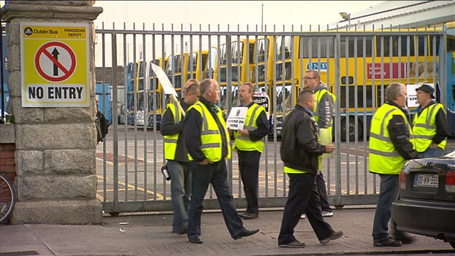 Dublin Bus drivers staged a three-day strike at the start of August