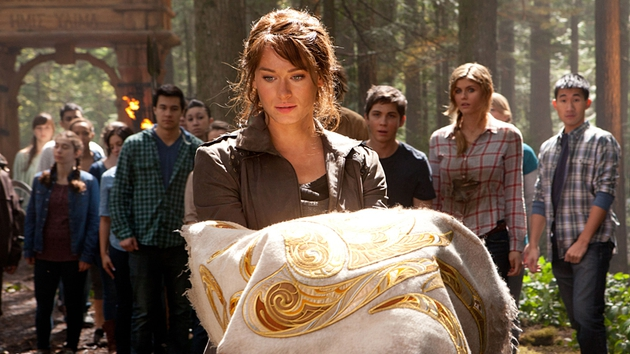 Only the Golden Fleece can save Percy's home from destruction