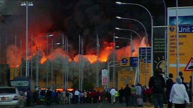 The fire at east Africa's busiest airport started in the early hours