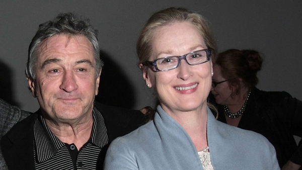 Streep will play a real-estate agent who rekindles her relationship with De Niro's character