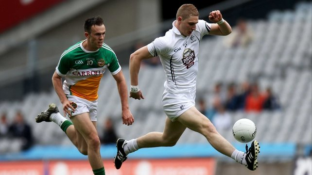 Daniel Flynn in action against Offaly in the Leinster quarter-final