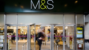 M&S said its like-for-like sales at its food halls fell 2.3%