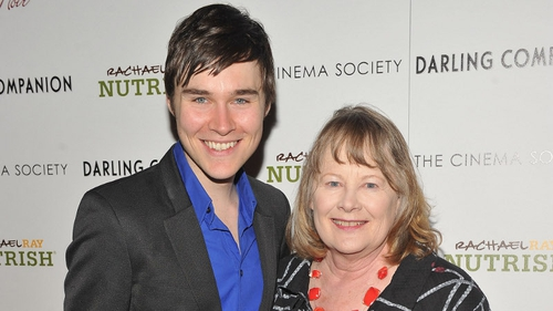 Dexter's Sam Underwood with veteran actress Shirley Knight