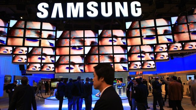 Samsung is hoping the soccer World Cup will boost sales of its high-end televisions