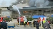 Flight disruption after Kenya airport fire