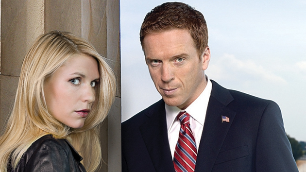 He's back! Damian Lewis returns to Homeland while Claire Daines' Carries strruggles with Saul