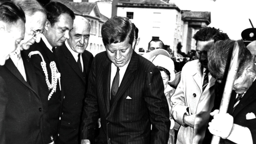 JFK was in Ireland in June, six months mere before his assassination in Dallas on November 22 1963. A new opera plots the days before that fatal event.