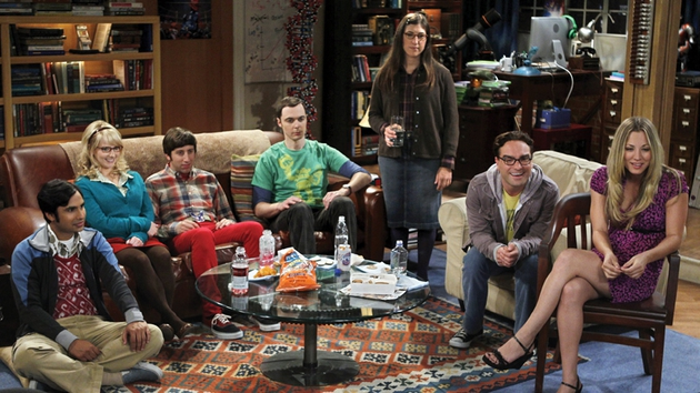 Hail, hail, the gang's all here as The Big Bang Theory starts its seventh season