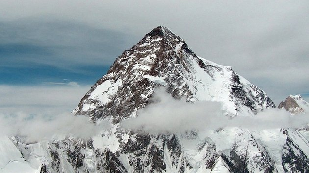 Celebrates the fearsome majesty of K2