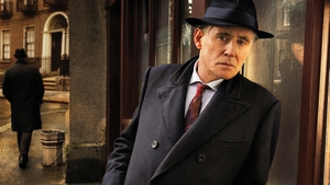 Gabriel Byrne in the Quirke series. The Walkinstown actor is John Kelly's guest this week on The Works Presents.