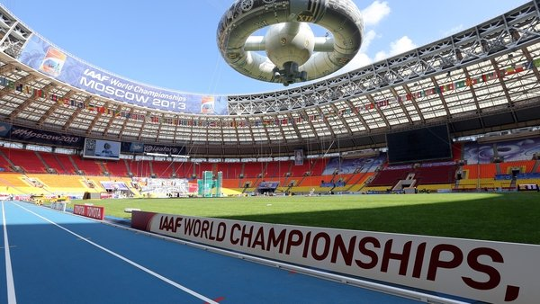 The Luzhniki Stadium will host this year's World Athletics Championships