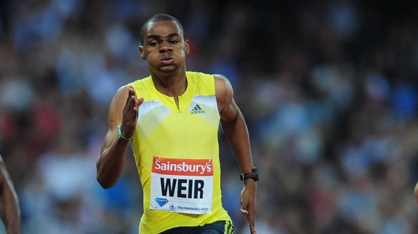 Warren Weir claims that doping is not ruining sprinting
