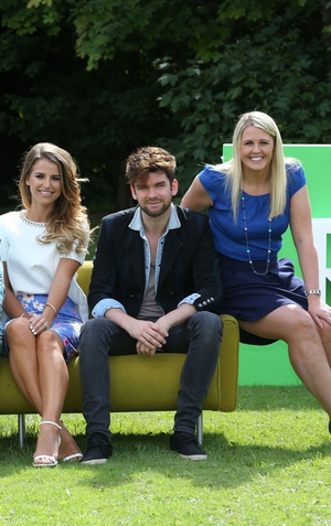 Vogue Williams, Eoghan McDermott and Jacqui Hurley