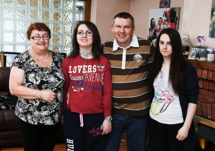 Miriam visits Patricia Ingle & her parents in Limerick