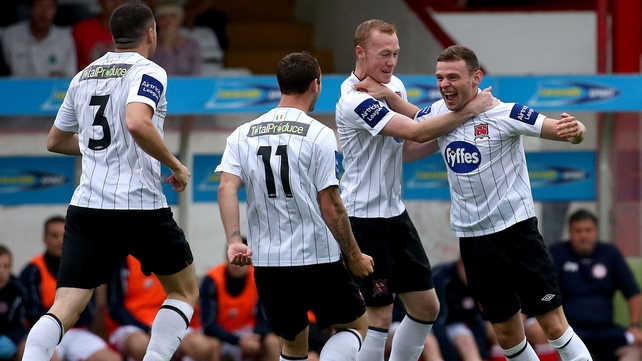 Andy Doyle set Dundalk on their way with a goal just after the opening minute