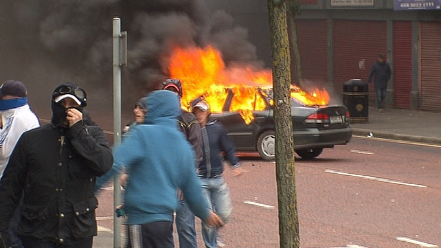 PSNI have asked public to avoid Royal Avenue area of Belfast