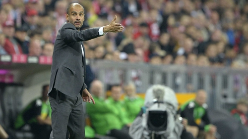 Pep Guardiola insists that Arsenal can still overcome Bayern if his side aren't at their best