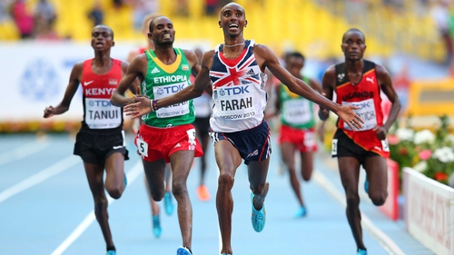 Mo Farah never looked troubled en route to the 10,000m title