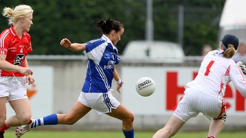 Tracey Lawlor is relishing Laois's underdog status