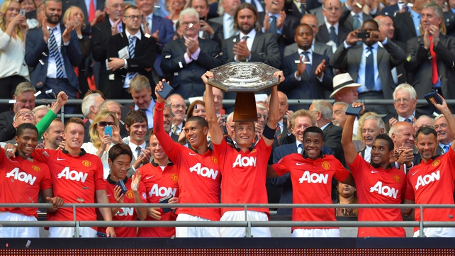 Manchester United 2013 Community Shield winners
