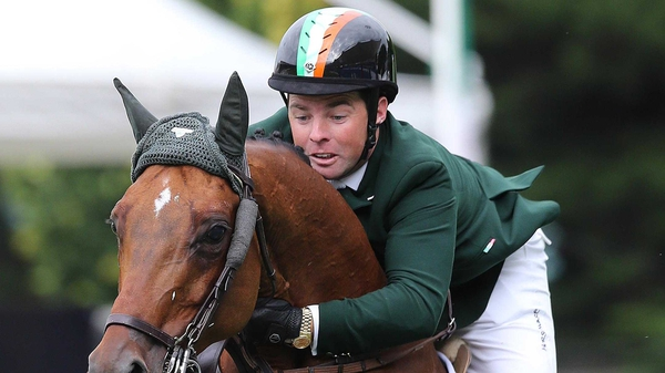Cian O'Connor and Blue Loyd have won the Longines Grand Prix