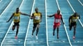 Bolt regains 100m world crown in Moscow