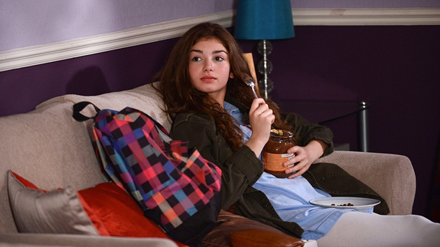 Cindy Junior (Mimi Keene) is the half-sister of Steven, Peter and Lucy Beale