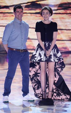 Max Greenfield, Lily Collins
