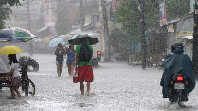 Typhoon Utor packed winds of 150km/h at its centre and its effects were felt hundreds of kilometres away in the capital, Manila
