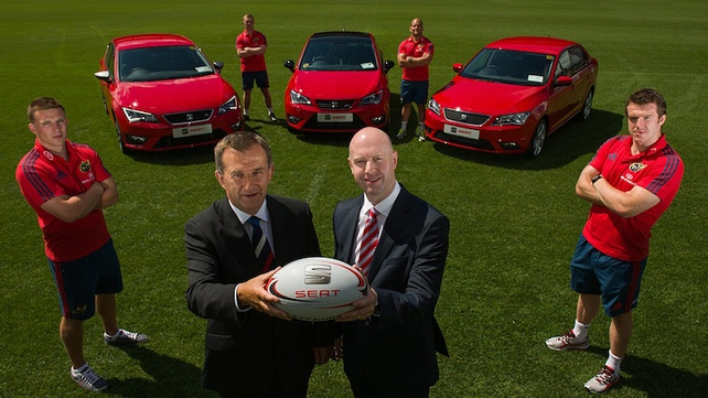 SEAT supports Munster
