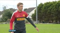 15-year-old Jimmy Dunne from Blackrock, Co Louth on his dream move to Manchester United.