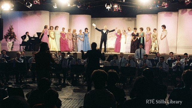 Gay Byrne and the Rose of Tralee Contestants (1983)
