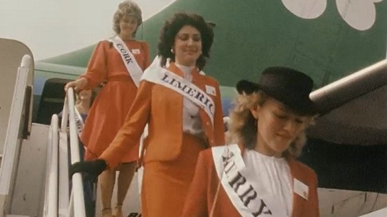 Roses Of Tralee at Dublin Airport in 1983