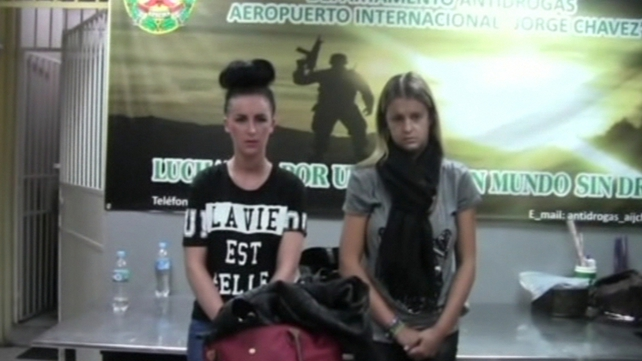 Michaella McCollum and Melissa Reid were arrested in August
