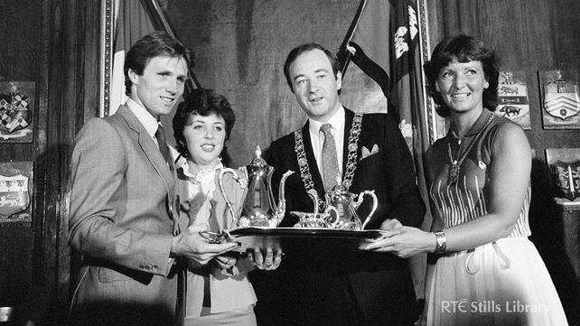 Civic reception for Eamonn Coghlan (1983)