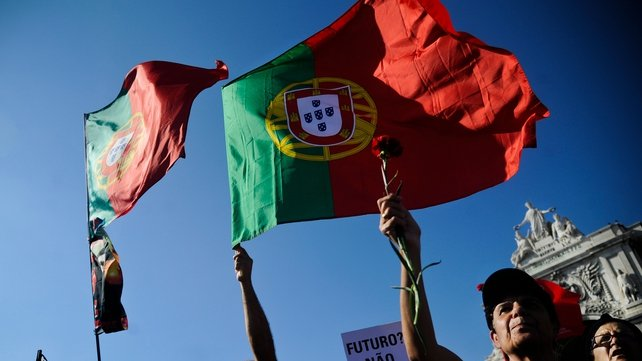Portugal's economy shrank by 0.7% in the first quarter of 2014