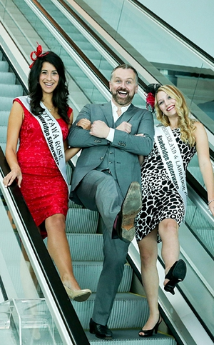 Dáithí Ó Sé launched the Rose Of Tralee