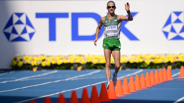 Rob Heffernan named athlete of the year