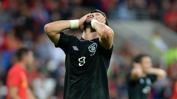 Shane Long rues a missed chance
